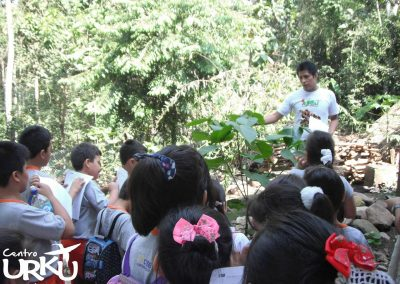 Centro Urku educando en la amazonía