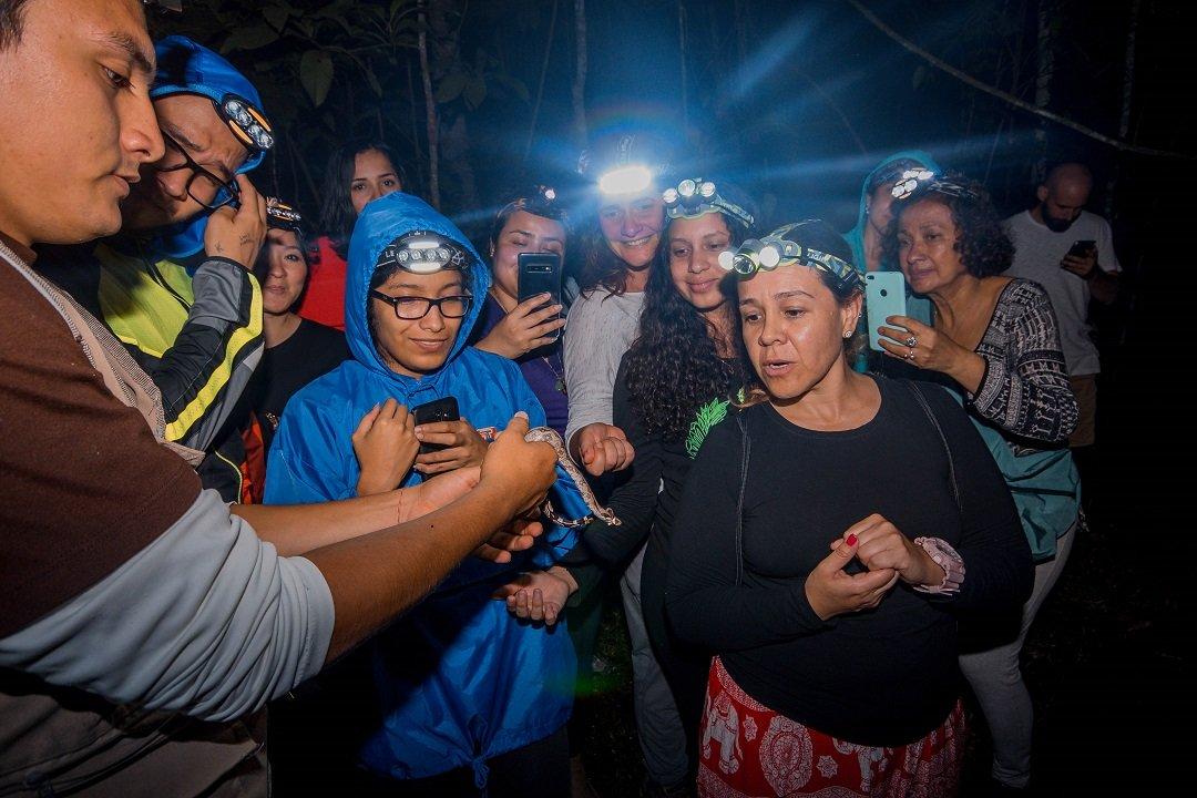 Tour nocturno Tarapoto